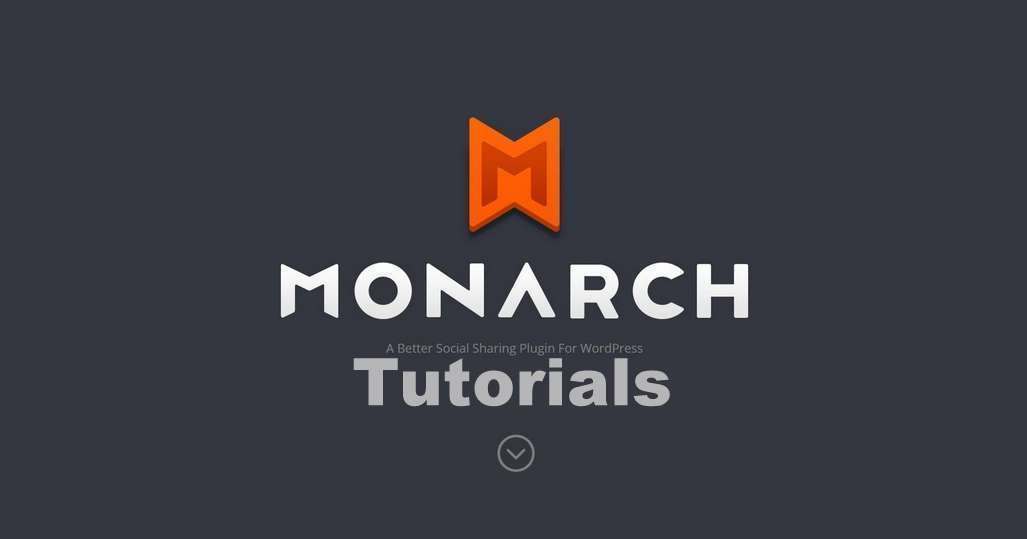 How To Install and Use Monarch WordPress Plugin