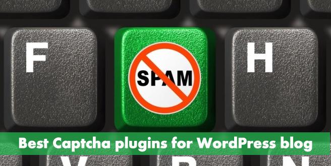 10 Best Captcha plugins for WordPress blog