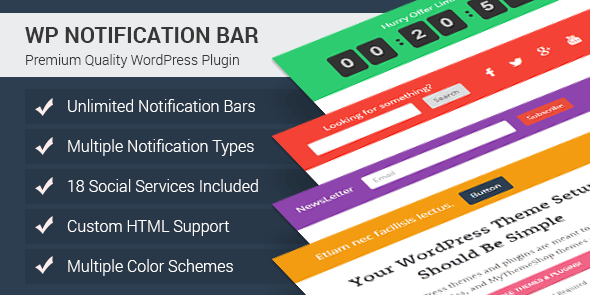 7 Best Notification Bar Plugin For WordPress Website - How ...