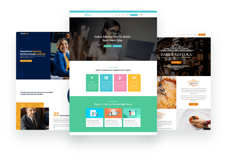 10+ Best One page WordPress Themes 2020