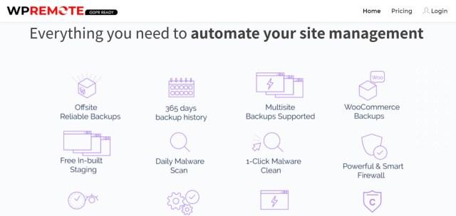 WordPress Management Plugin