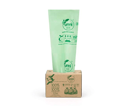 PIcture of UNNI Compostable Bags