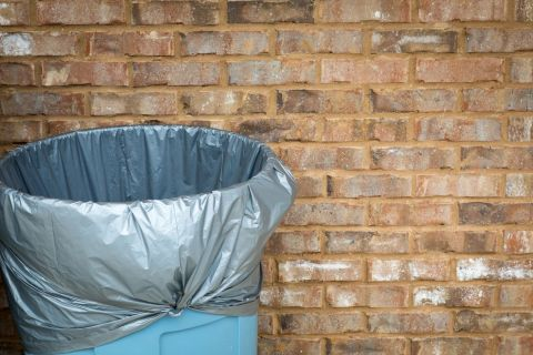 Rubbish or Recycle, Picture of Rubbish Bin