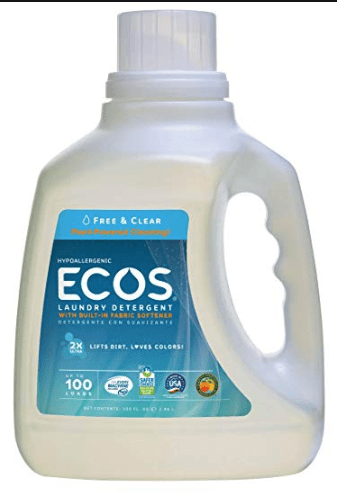 ECOS Laundry Detergent Review Picture of Free & Clean