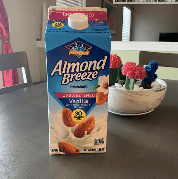 Photo of Almond Breeze Milk Carton