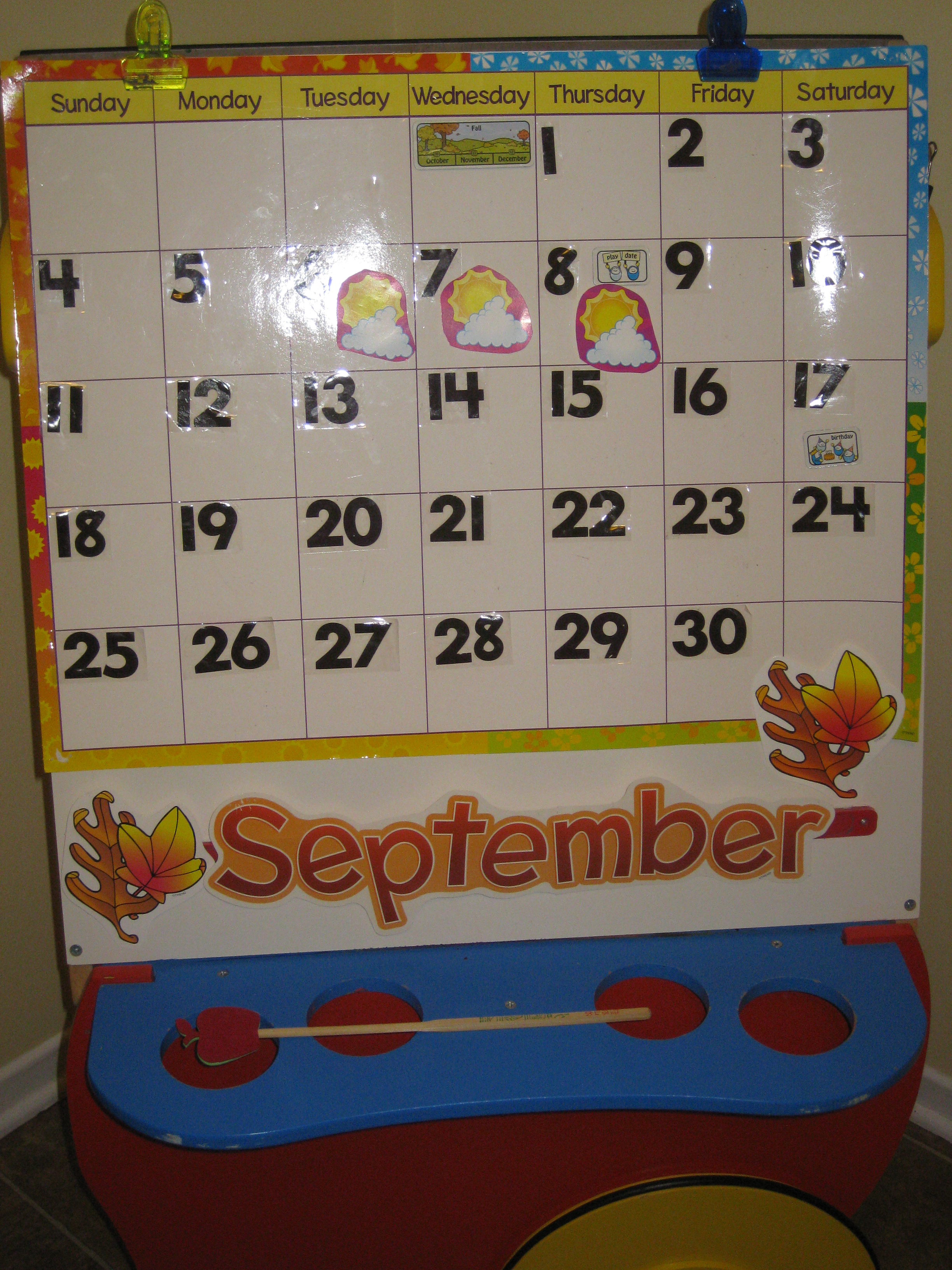 Calendar Time Is Learning Time It S More Than Just The Days Of The Week