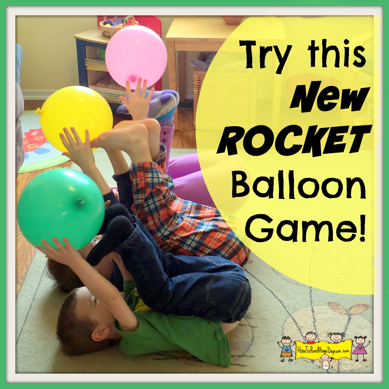 Try This New Rocket Balloon Game