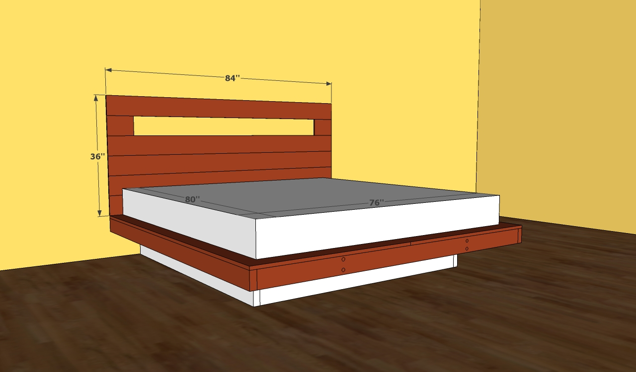 japanese platform bed building plans