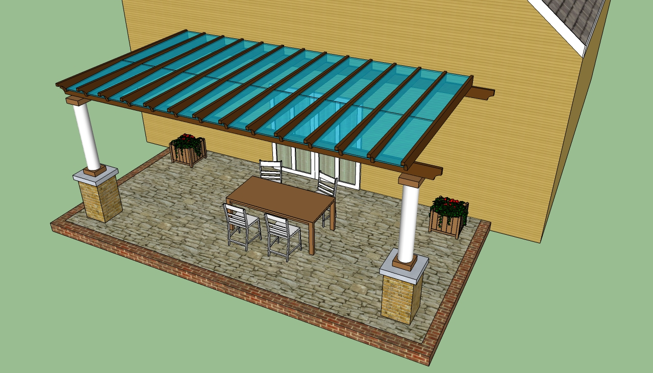 Pergola design   HowToSpecialist - How to Build, Step by ... on Covered Pergola Ideas  id=87909