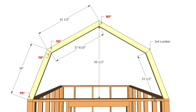 Barn Roof Shed Plans Free