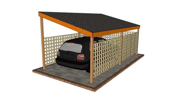 Free Wood Carport Plans