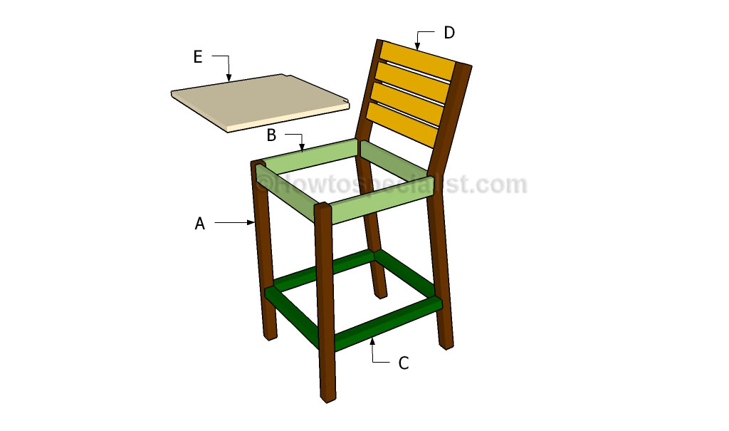 Free Wooden Step Stool Plans