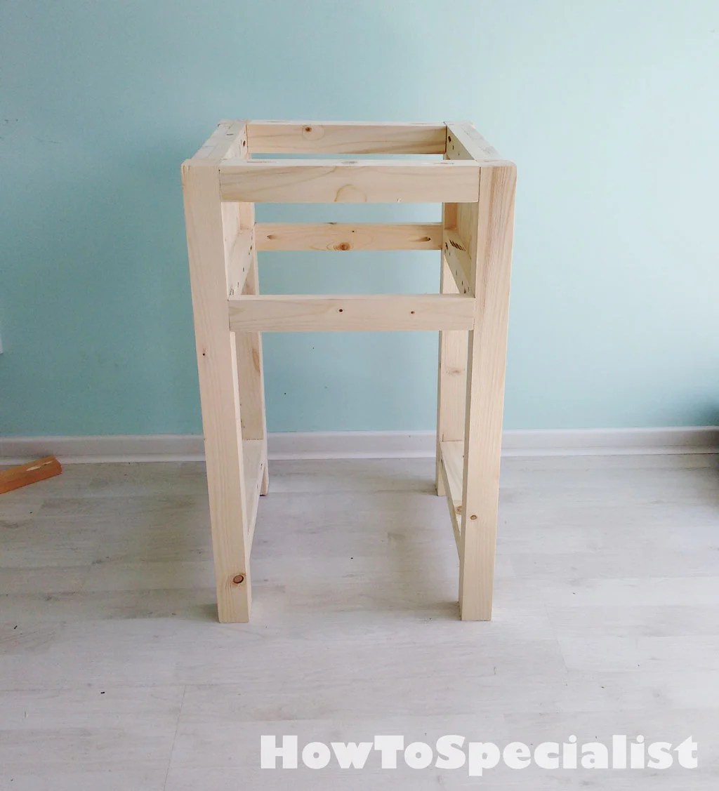 How To Build A Farmhouse Nightstand Howtospecialist How