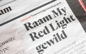 My Red Light in de rosse buurt