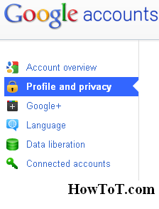 Hide Relationship Status in Google Plus