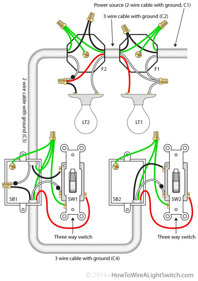 wiring two way switch diagram wiring diagram 4 way switch wiring diagrams do it yourself help