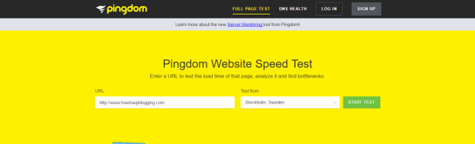 Pingdom Type Free Best Free SEO Tools The Complete List