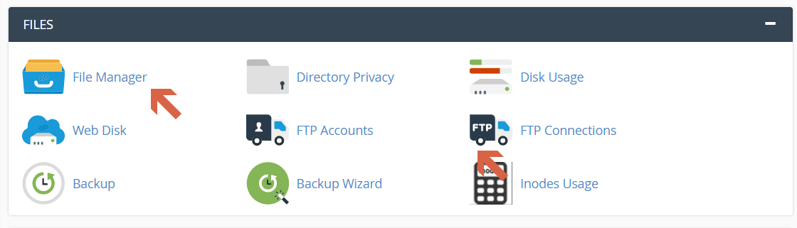 A Step By Step Guide to Migrating Your WordPress Website To A New Web Host file manager file