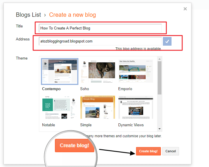 How To Create A FREE Blogspot Blog [6 Easy Steps For Beginners]