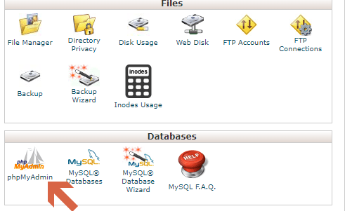 Managing WordPress Database using