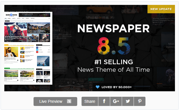 NewsPaper7_Newspaper WordPress Themes