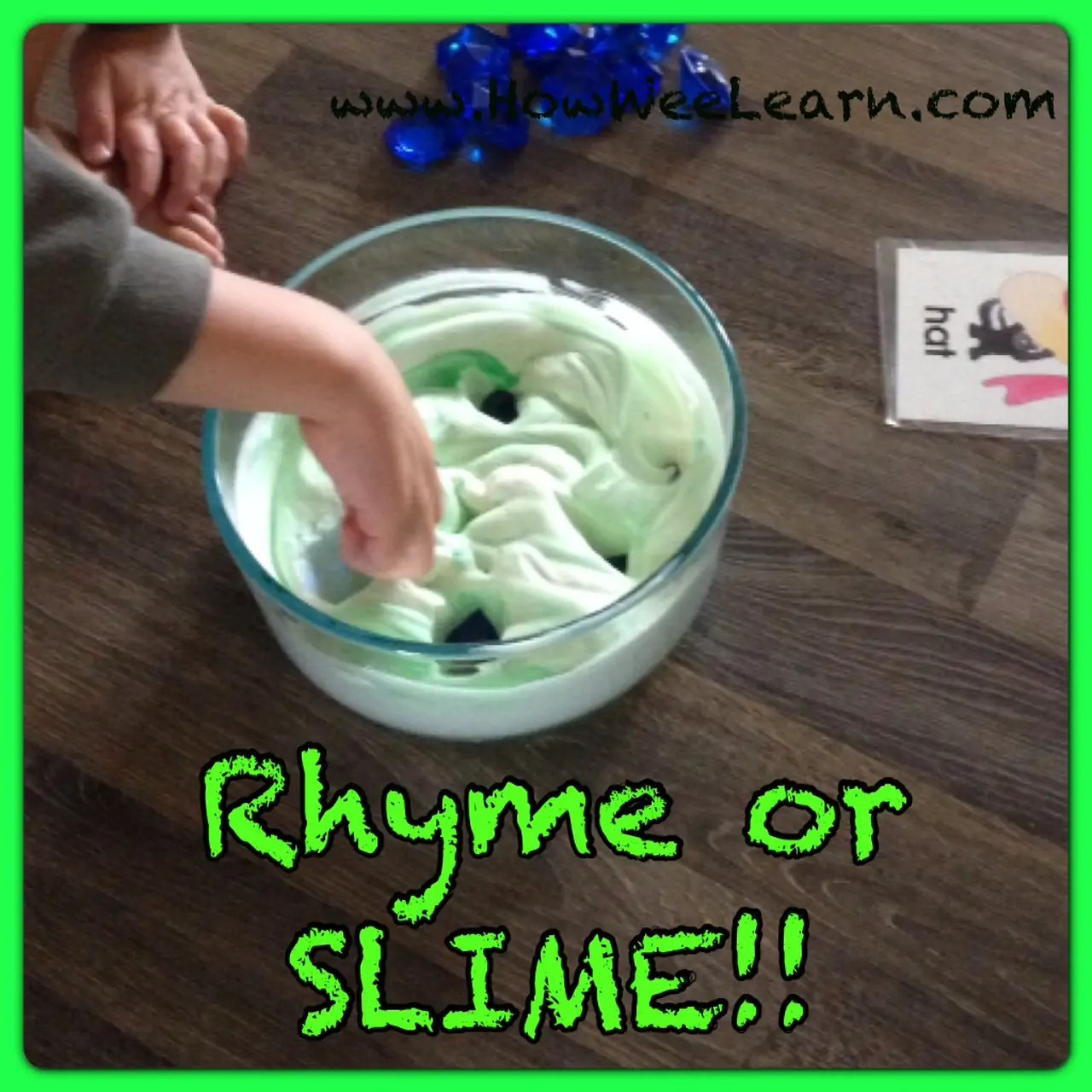 Rhyming Games Rhyme Or Slime