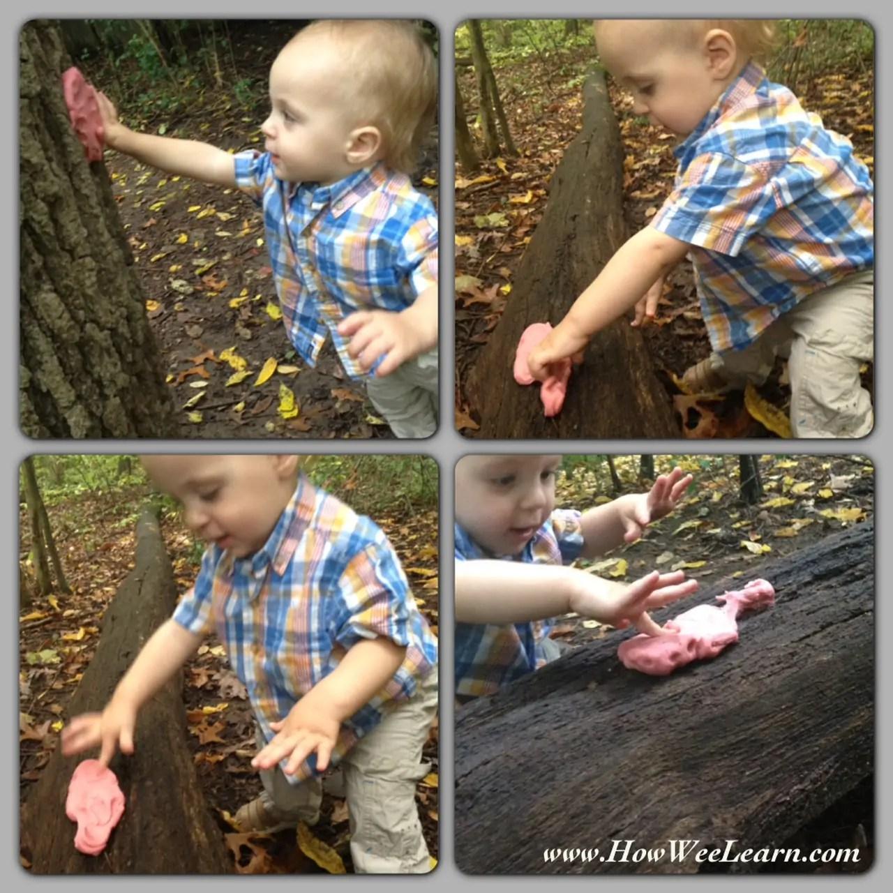 A Brilliant Playdough Nature Walk With Kids