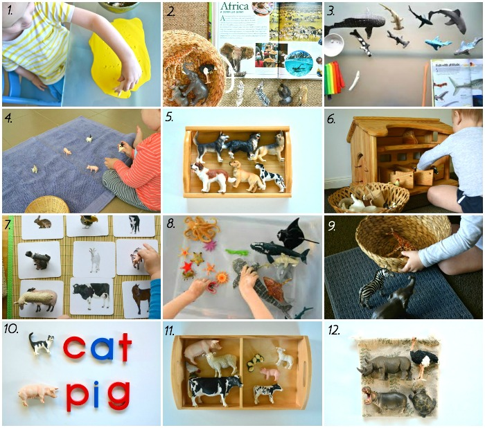 12 Montessori At Home Activities To Do With Schleich