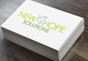 Howzit Media Marketing, New Hope Solutions logo design
