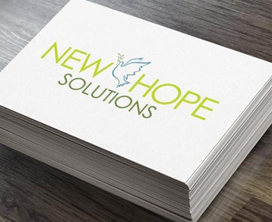 Howzit Media Marketing, New Hope Solutions logo design