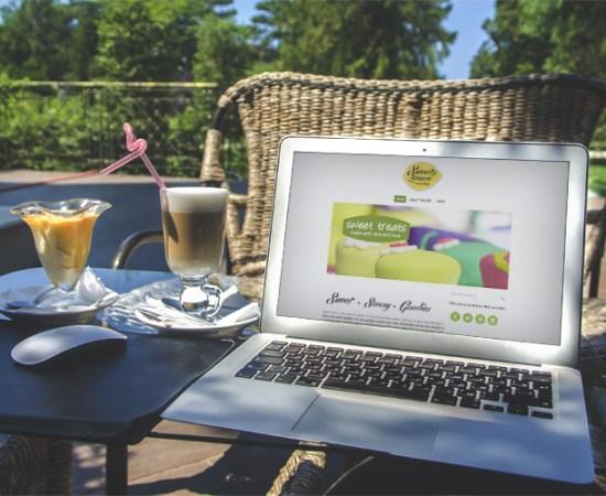 Howzit Media Marketing, Sweet Lemon Catering website
