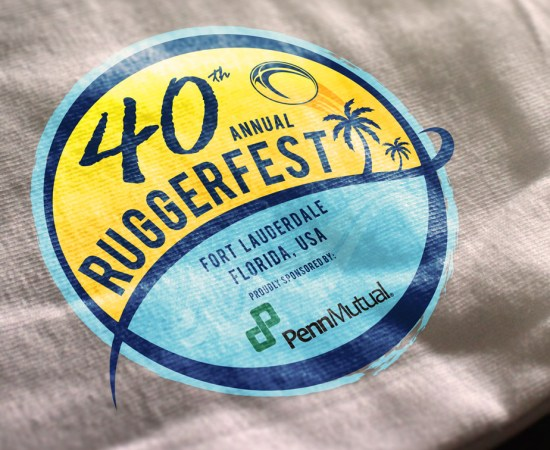 Howzit Media Marketing, 2016 Ruggerfest logo