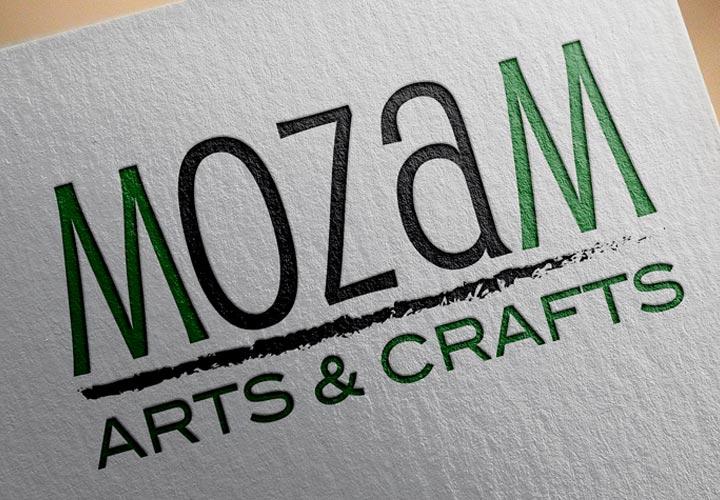 Mozam Arts and Crafts logo branding