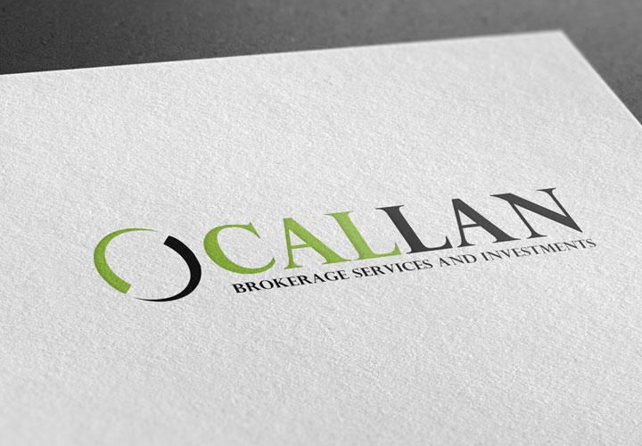 Callan Brokerage Services logo branding