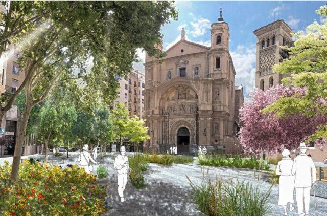 Así será la plaza Santa Engracia: más peatonal y con múltiples jardines
