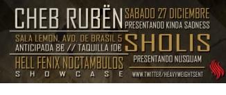 Ir al evento: CHEB RUBËN + S.H.O + Hell Fenix Noctambulos