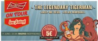 Ir al evento: THE LEGENDARY TIGERMAN + Help me Devil + Islas Marshall