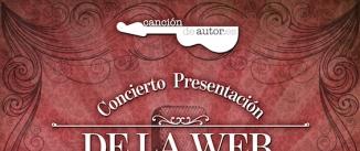 Ir al evento: Concierto Presentación Canciondeautor.es