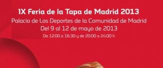 Ir al evento: FERIA DE LA TAPA Madrid 2013