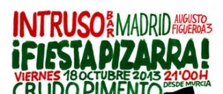 Ir al evento: fiesta pizarra (HERMANOS PIZARROS DJS + CRUDO PIMENTO)