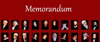 Ir al evento: MEMORANDUM