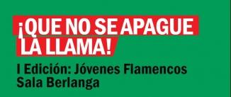 Ir al evento: QUE NO SE APAGUE LA LLAMA Edición jovenes flamencos