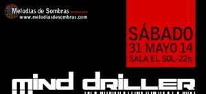 Ir al evento: MELODÍAS DE LAS SOMBRAS presenta: ALIASING + PSIDERALICA + MIND DRILLER