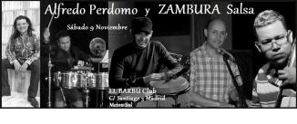 Ir al evento: ALFREDO PERDOMO Y ZAMBURA salsa