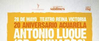 Ir al evento: SR. CHINARRO 20 años de Acuarela
