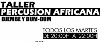 Ir al evento: Taller de percusion africana tradicional