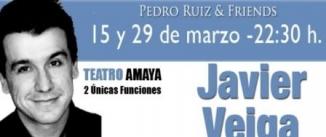 Ir al evento: JAVIER VEIGA - Pedro Ruiz & Friends