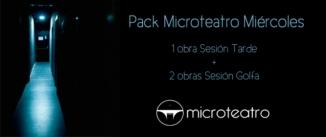 Ir al evento: PACK MICROTEATRO MIÉRCOLES