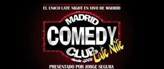 Ir al evento: MADRID COMEDY CLUB LATE NIGHT
