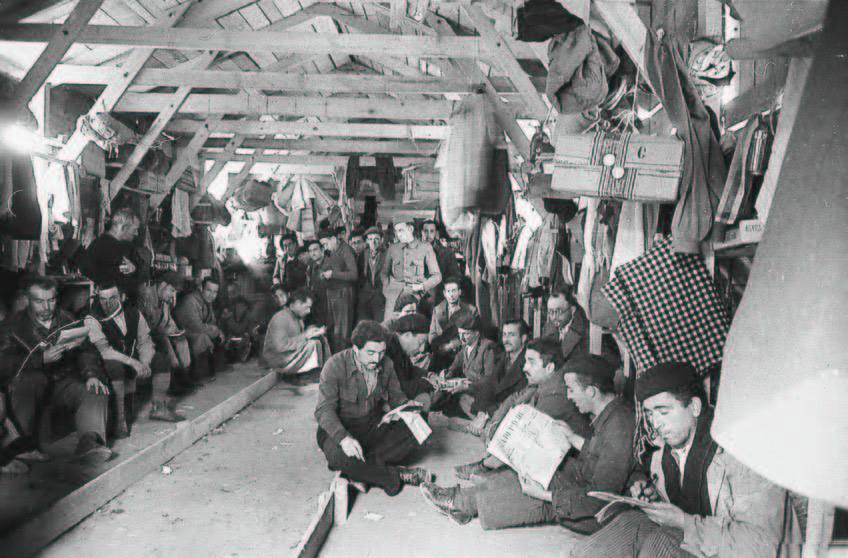 Agustí Centelles. Campo de Bram, 1939.
